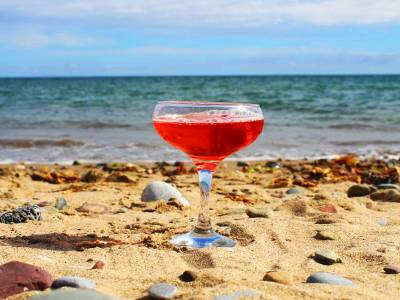 Beara Gin cosmopolitan cocktail