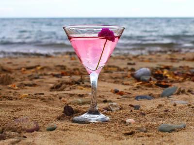 Beara Pink Martini Cocktail